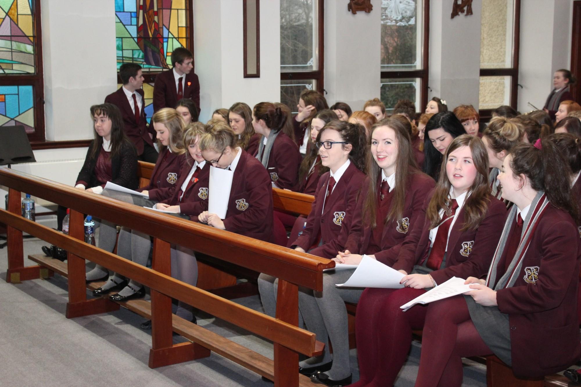 Mass of Thanksgiving for Mr Mooney « St Paul's High School