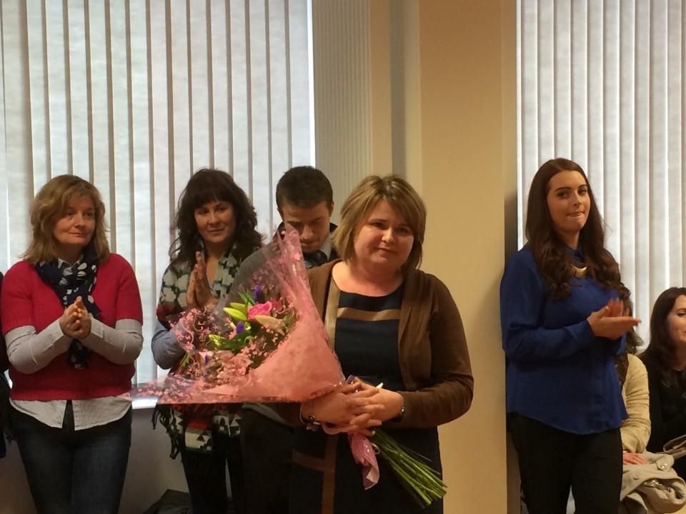 Staff and students bid farewell to Mrs McKenna « St Paul's