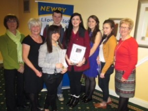 Youth Award presentation 2014