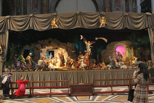 Christmas At St Peters Basilica