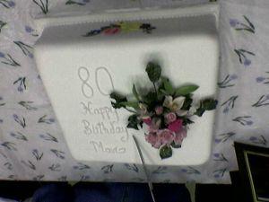photo of Mavis' cake