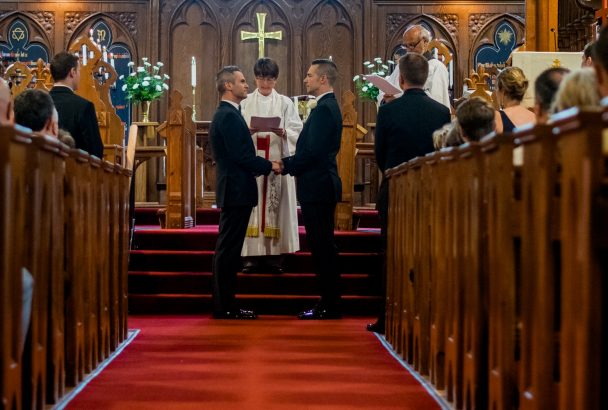 Blessing a marriage covenant