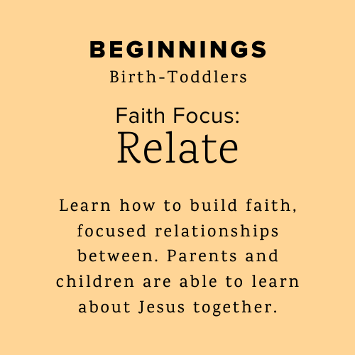 Beginnings helps parents and toddlers learn about Jesus together.