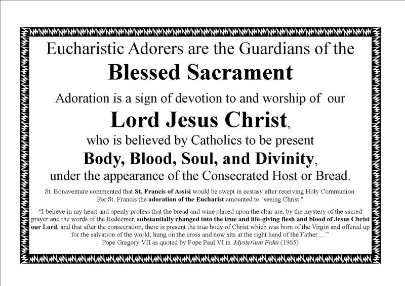 Adoration Guardians