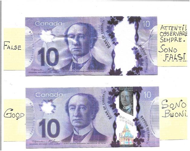 Counterfit Money