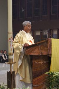 Br Joseph give the Homily