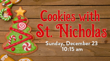 Cookies with St. Nicholas
