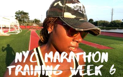 NYC Marathon Training Series: Week 6, & Traveling to Atlanta