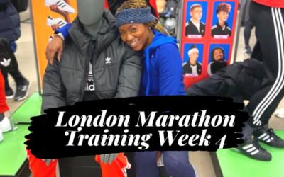 LONDON MARATHON TRAINING | Week 4 | Tempo Run | Cross-training | Yoga for Runners | Life of a Runner