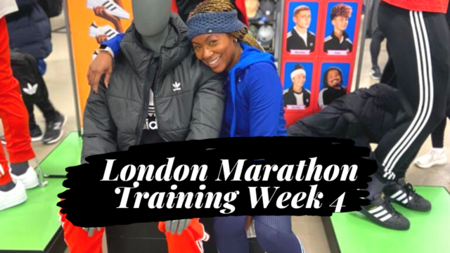 LONDON MARATHON TRAINING | Week 4 | Tempo Run | Cross-training | Yoga for Runners | Life of a Runner