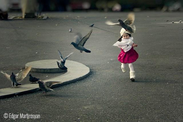 © Edgar Martirosyan (Byuregavan, Armenia). Little Girl in Erevan.