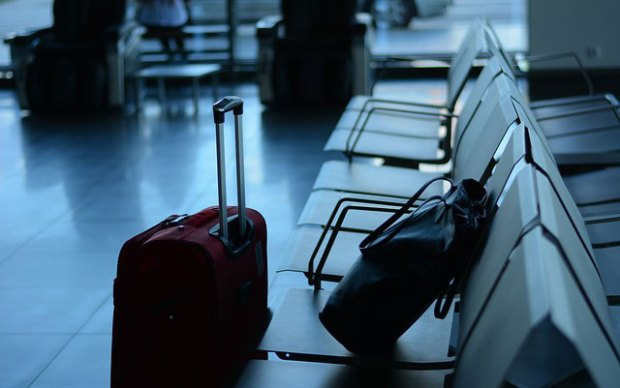 Flughafen, Sicherheitskontrolle, Security Check, Bombe, Handgepäck, Strafanzeige