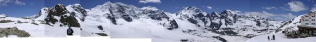 Panorama from Diavelezzo