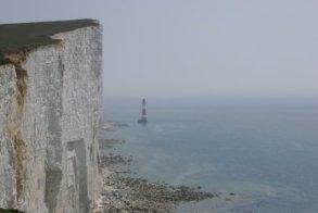 Walking towards Beachey Head