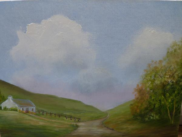 A painting by Beryl Butler