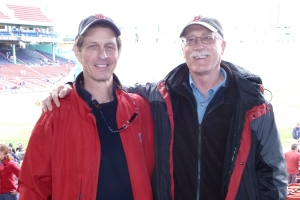 Chip and Greg at Fenway