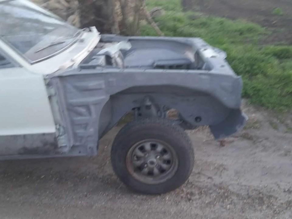 Ford Taunus Sandstrahlen