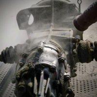 Sodastrahlen - Getriebe reinigen
