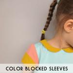 colorblocked sleeves