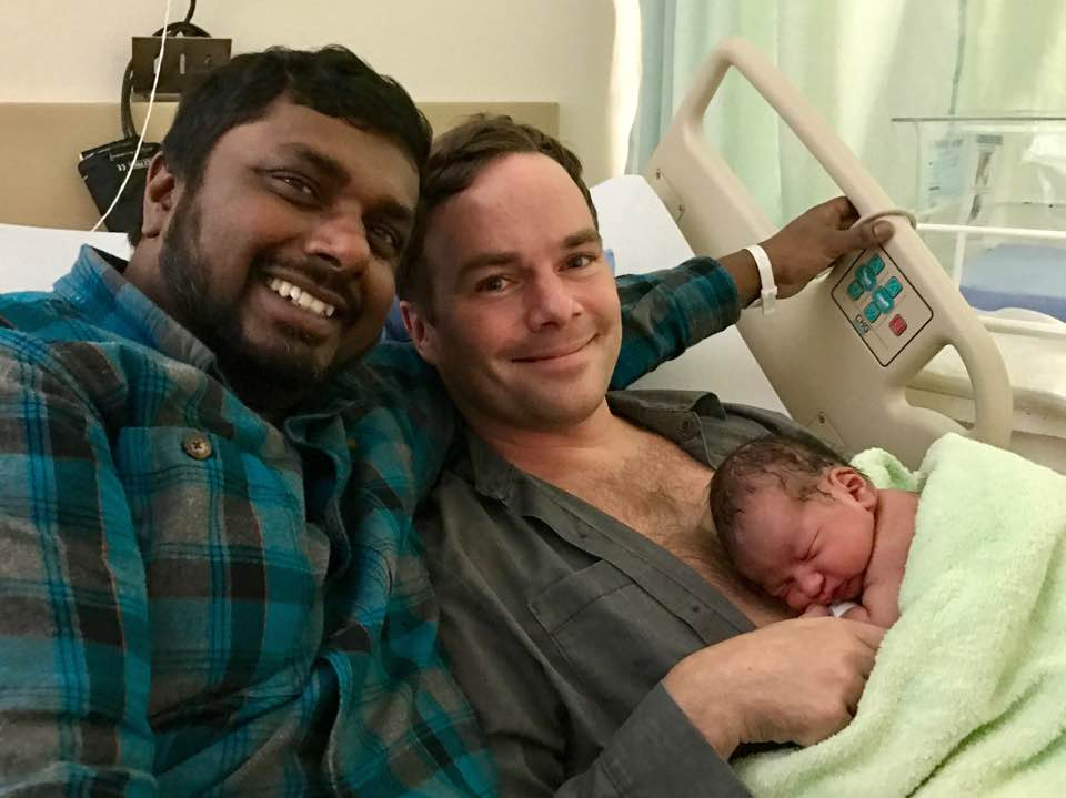 Romi And Spencer Chandra Herbert Become Proud Parents To