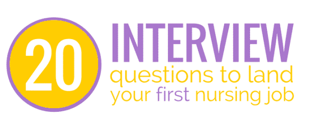 nursing interview