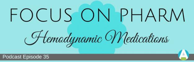 hemodynamic medications