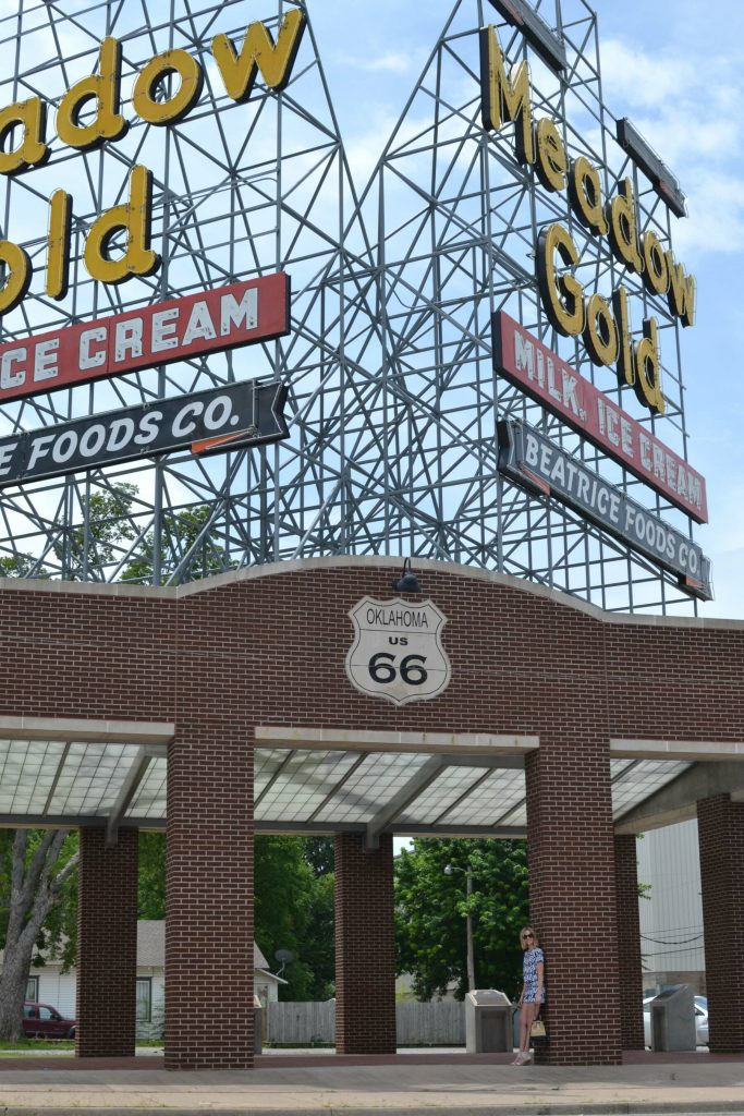 the shopping bag, route 66