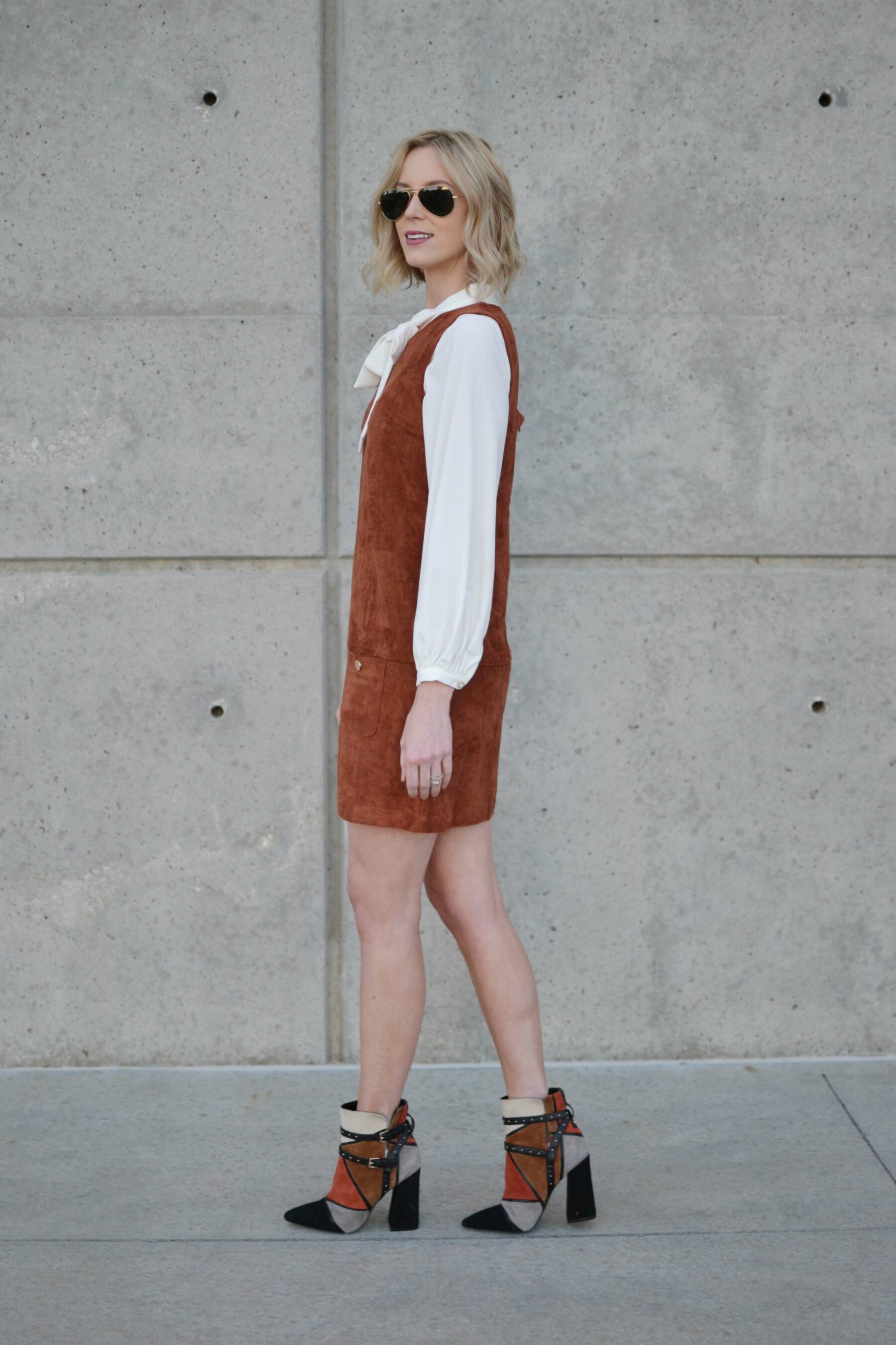 100% genuine latest trends the sale of shoes Suede Jumper - Straight A Style