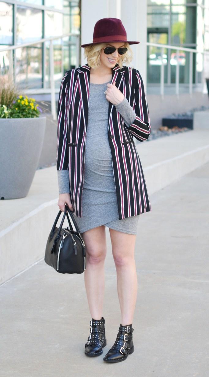 grey-dress-striped-blazer-boots-1