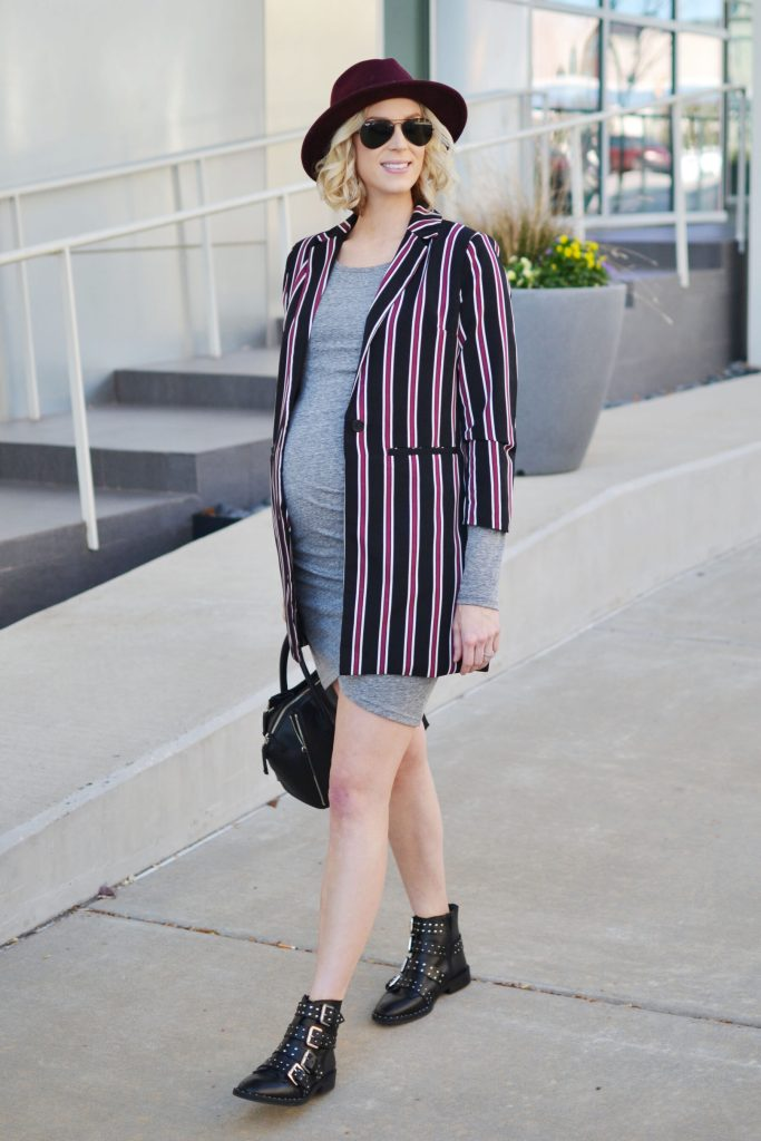 grey-dress-stripes-blazer