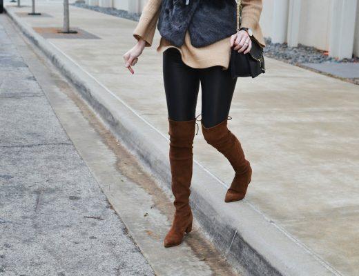 tan-sweater-grey-faux-fur-vest-tan-otk-boots-for-ig