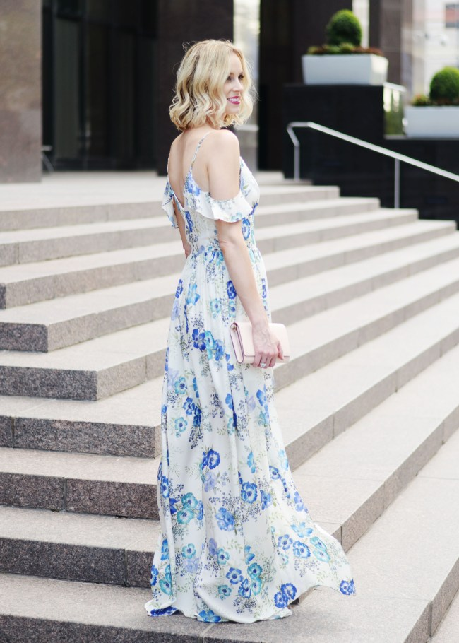 a dress worthy of date night, amanda uprichard wren floral dress, long floral maxi dress, date night outfit idea