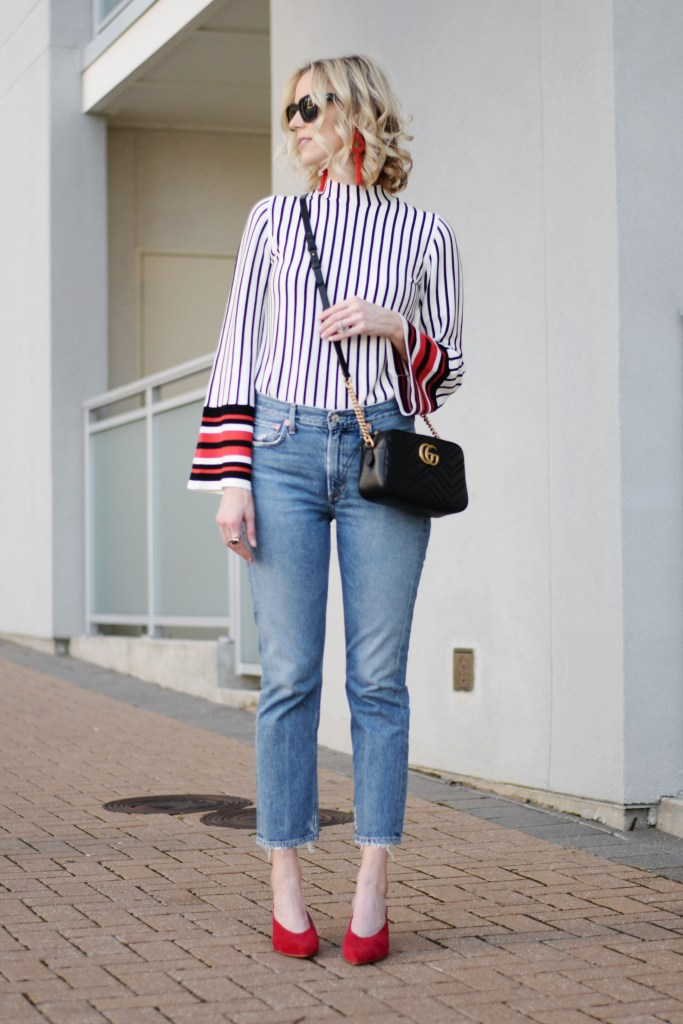 should you try straight leg jeans? Yes! this pair is the best!