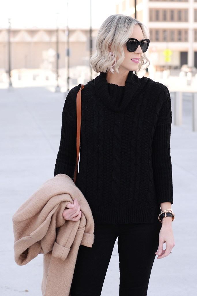 black and tan outfit idea