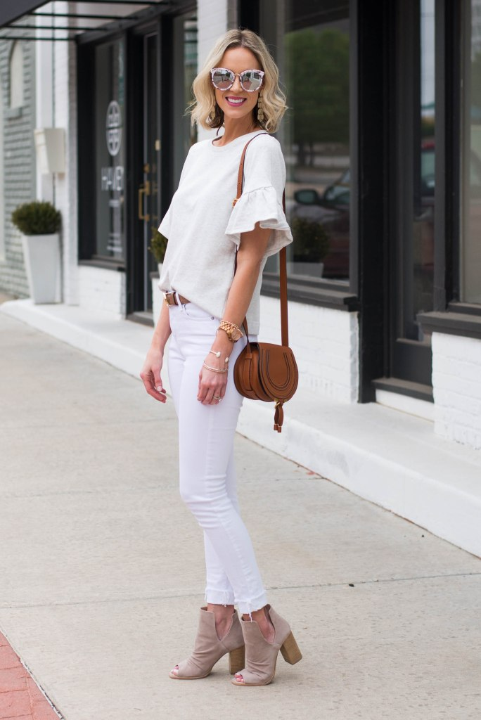 all neutral outfit