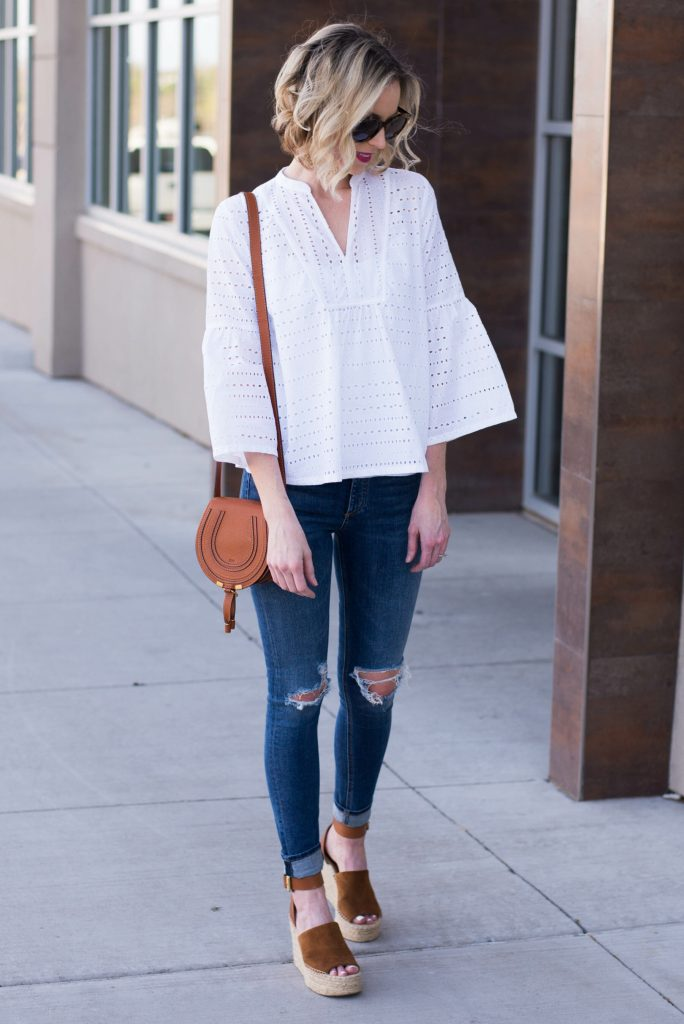 how to wear eyelet for spring