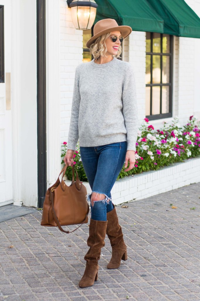 the sweater you'll have for years - classic crew neck and so soft!