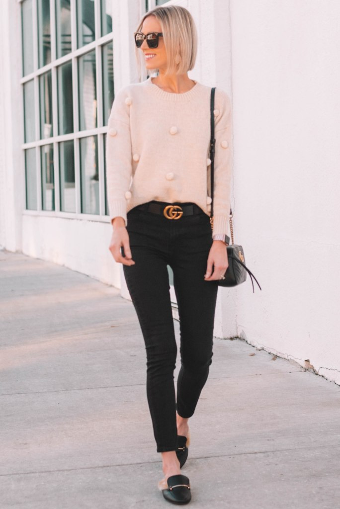 cute and casual winter outfit