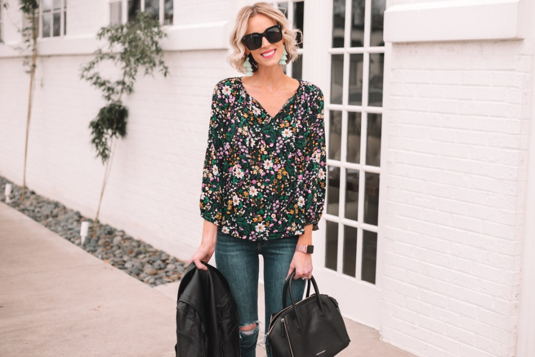 4a106fe6c89 It s day three of my five day series with Jo-Lynne about how to transition  your wardrobe from winter to spring. Each day we are talking about one easy  thing ...