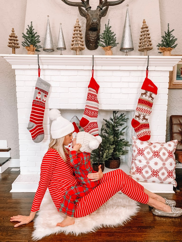 affordable family Christmas pjs