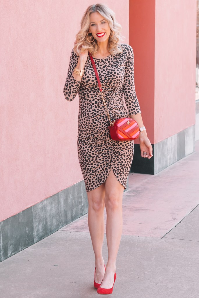 How to Style a Leopard Dress - Dressed Up and Casually