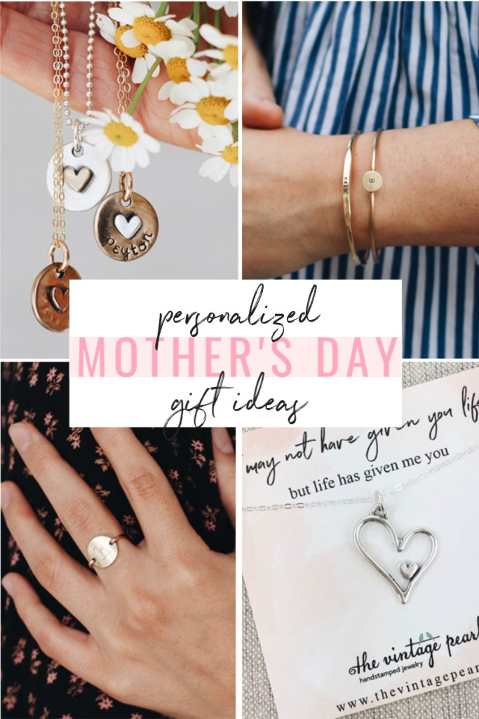 the best personalized mothers day gift ideas, personalized jewelry