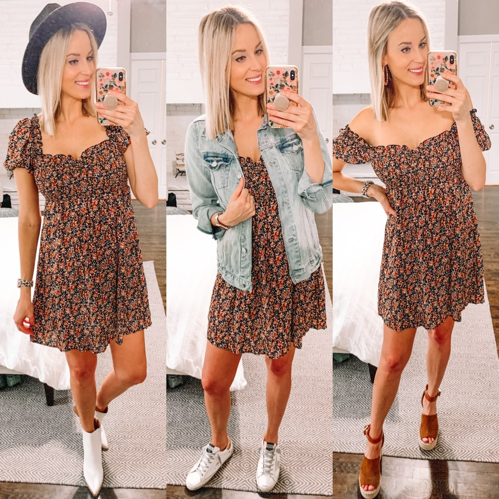 One dress styled three ways and just $25!