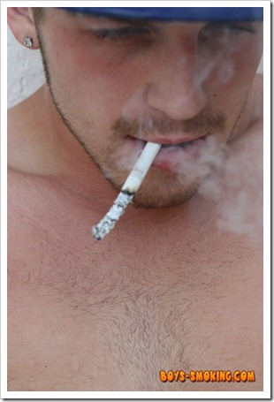 boys smoking - Gorgeous and rugged chainsmoking twink Austin Ried (18)