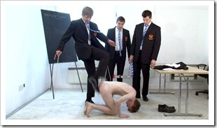 brutal tops - Sixth Form school bullies and their Teacher brutally cane sub josh (7)