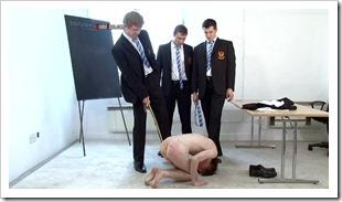 brutal tops - Sixth Form school bullies and their Teacher brutally cane sub josh (8)