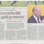 Leo van Herwijnen in de krant