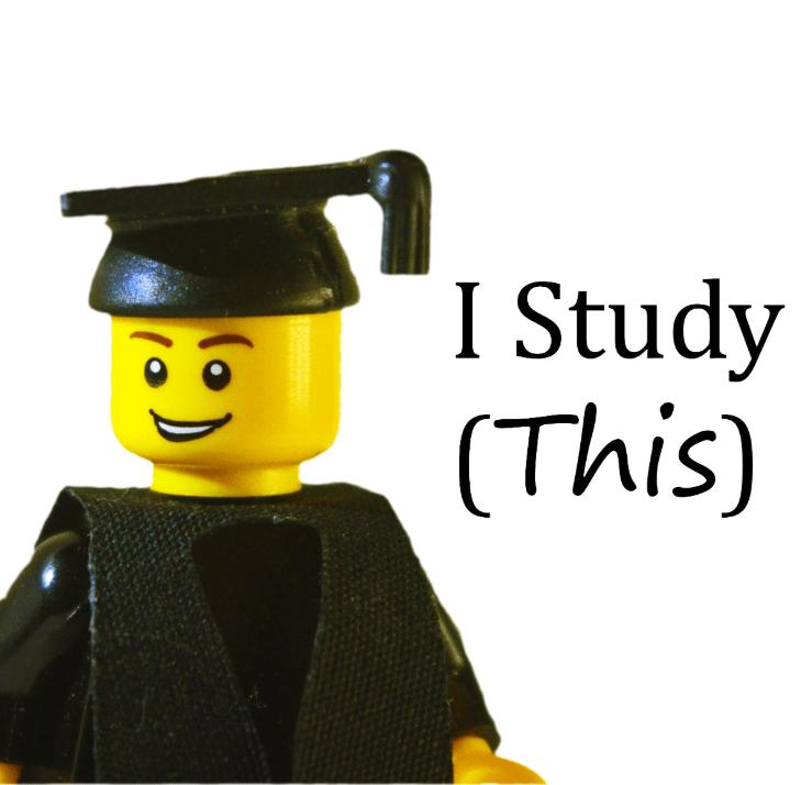 i study this