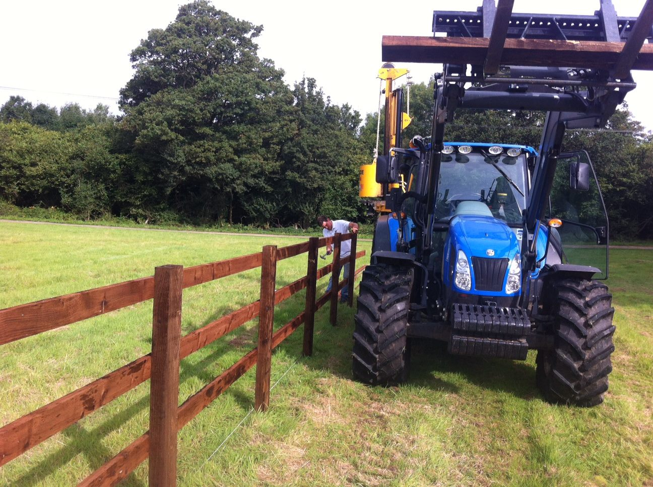 Straight Line Fencing Trading Since 1985