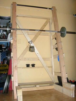 Radman's Wooden Power Rack